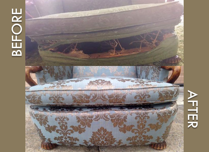 All Trades Upholstery Furniture Upholstery Repair Restoration